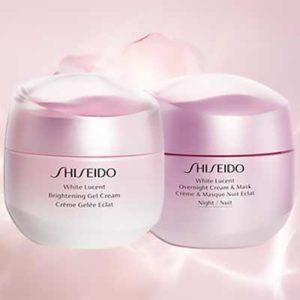 Free Shiseido Face Cream & Mask