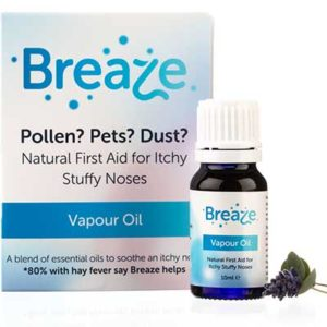 Free Breaze Hayfever Relief Oil