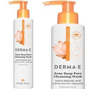 Free Derma E Acne Deep Pore Cleansing Wash Sample
