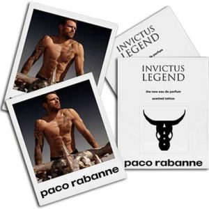 Free Paco Rabanne Invictus Legend Scented Tattoo