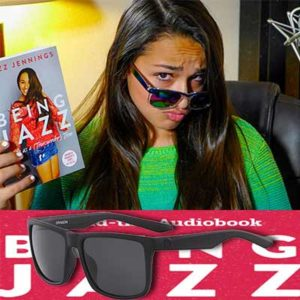 Free Rainbow ReadProudListenProud Sunglasses