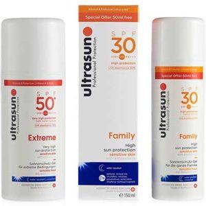 Free Ultrasun Sun Cream