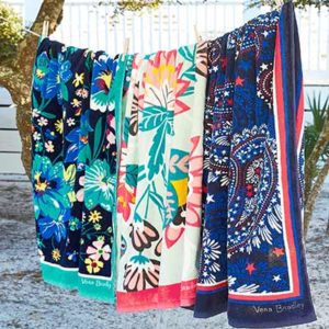 Free Beach Towel from Vera Bradley