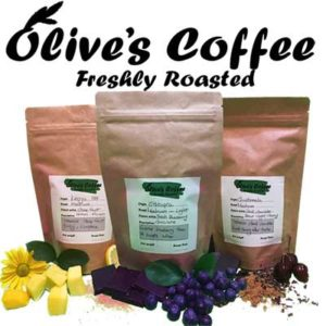 Free Olives Coffee Samples Pack