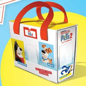 Free Pets 2 Toy Storage Case
