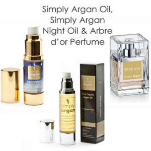 Free Sample of Simply Argan Oil and Arbre D'or Perfume