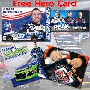 Free Racing Hero Card