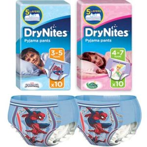 Free Huggies DryNites Pyjama Pants