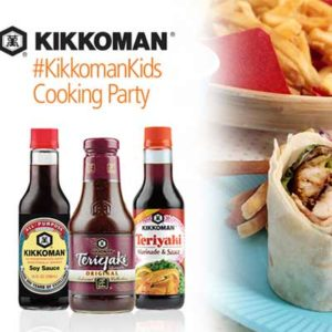 Free Kikkoman Kids' Cooking House Party