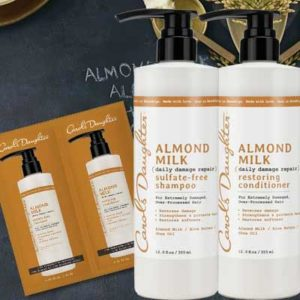 Free Sample of Almond Milk Shampoo & Conditioner