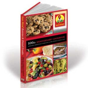Free Sun-Maid 100th Anniversary Cookbook Booklet