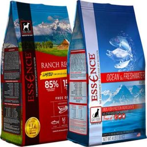 Free 4lb Bag of Essence Dog and Cat Food