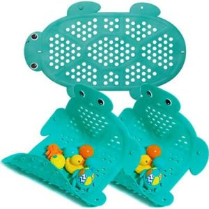 Free Bath Mat & Storage Basket