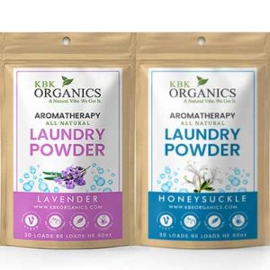 Free KBK Organics Aromatherapy Laundry Powder