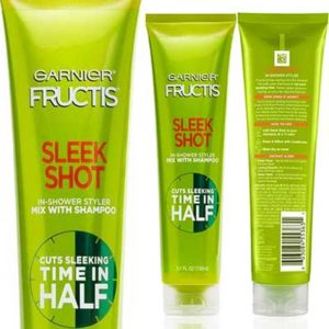 Free Sample of Garnier Fructis Sleek Shot Shower Styler