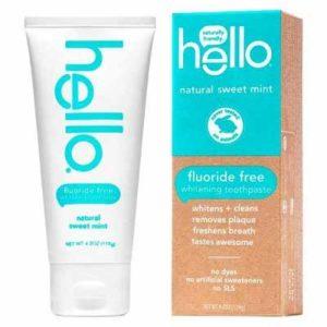 Free Hello Whitening Toothpaste