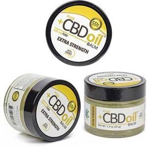 Free PlusCBD Oil Extra Strength Hemp Balm