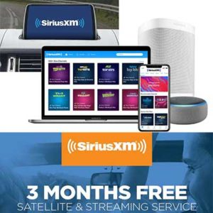 Free SiriusXM All Access 3-Month Trial
