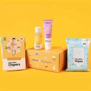 Free Walmart Baby Welcome Box