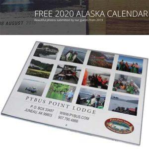 Free 2020 Alaska Calendar