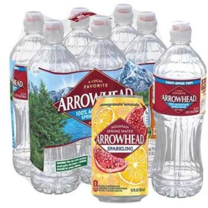 Free 8-PACK of Arrowhead Spring Water