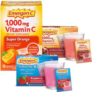 Free Emergen-C Vitamin Drink Mix