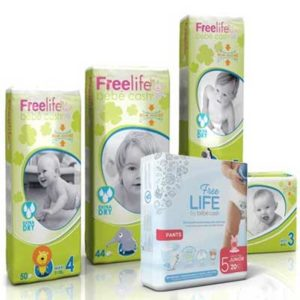 Free Freelife Nappies and Pants