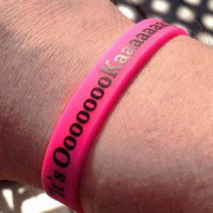 Free It's OooooooKaaaaaaay! Wristband