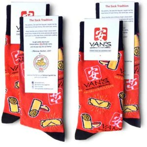 Free Pair of Van's Kitchen Socks