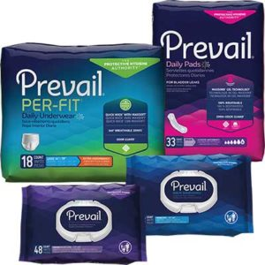 Free Prevail Incontinence Product Samples