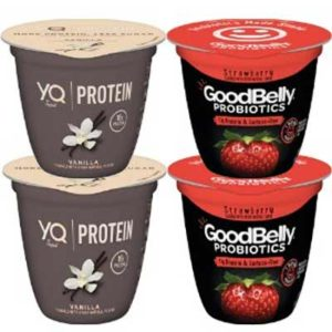Free YQ or Goodbelly Yogurt