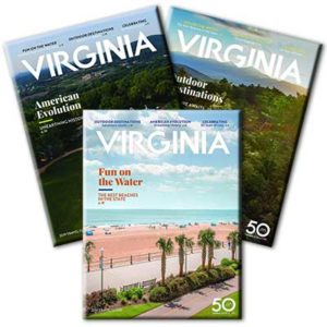 Free 2019 Virginia Travel Guide and State Map