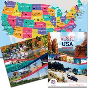 Free Copy of the 2021 Visit USA Travel Planner