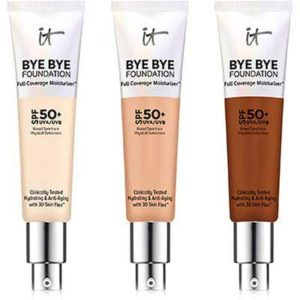 Free Bye Bye Foundation Full Coverage Moisturizer