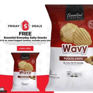 Free Essential Everyday Salty Snacks 6-15 oz