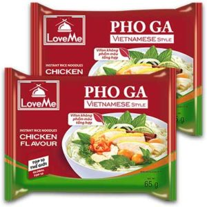 Free Pho Ga Instant Rice Noodles with Chicken Flavor