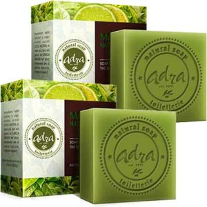 Free Adra Green Tea Lime Soap Sample