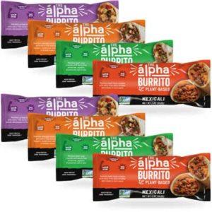 Free Alpha Foods Plant-Based Burrito