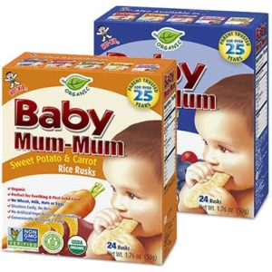 Free Baby Mum-Mum Organic Rice Rusks