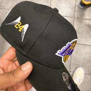 Free Custom Kobe Embroidery On Any Hat