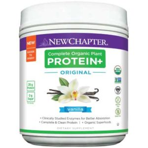 Free New Chapter's Plant Protein+