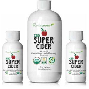 Free Rena's Organic CBD Super Cider