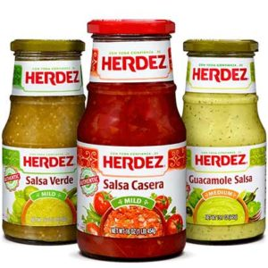 Free Herdez Salsa Sampling Box