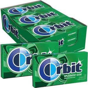 Free Orbit Spearmint Chewing Gum