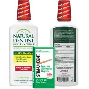 Free Sample of The Natural Dentist Healthy Gums Mouth Rinse