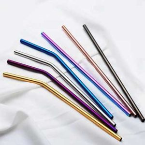 Free Panda Buu Paper and Stainless Steel Metal Straws Samples