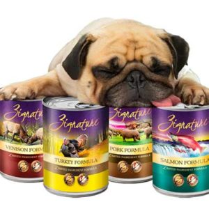 Free Zignature Dog Food Sample