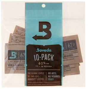 Free Boveda Humidity Control Sample Packs
