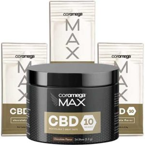 Free Coromega MAX CBD Chocolate