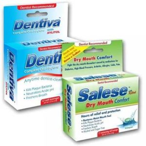 Free Dentiva and Salese Lozenge Samples